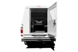 Toyota Singlecab steel Canopy Back-open-door