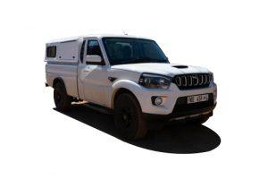 Mahindra Single cab Front_Side
