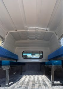 Toyota Singlecab steel Canopy Inside-benches_2