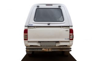 Toyota Single cab Fibreglass Canopy Back