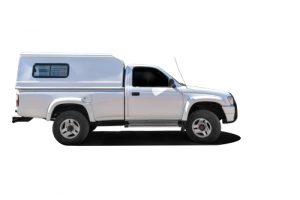 Toyota Singlecab steel Canopy side